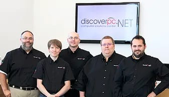 discover pc staff - Travus Elm, Matthew Eastman, Kevin Johnson, Carl Berg, Tylor Elm