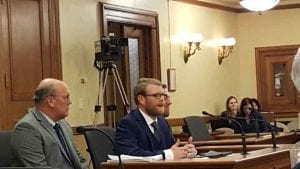Mayor Jim Paine of Superior WI speaks at Senate Committee | Explore Superior