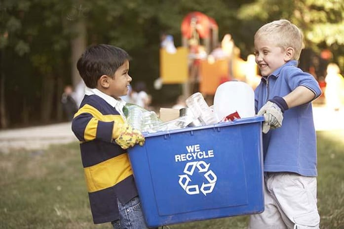 Kid Recycling