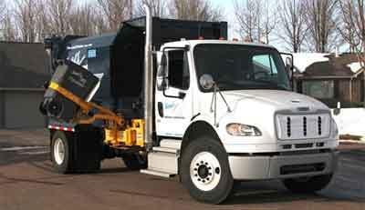 Hartel Recycling Truck