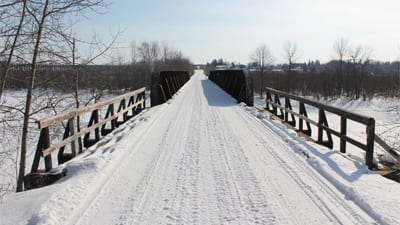 Osaugie Trail in Winter