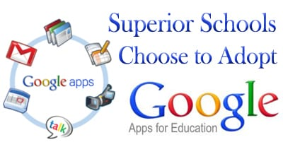The Superior School District is moving to full adoption of Google Apps for Education