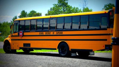 A District of Superior School Bus
