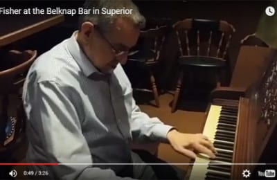 Bill Fisher performs at The Belknap | Explore Superior©