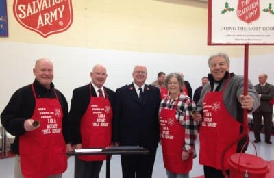 Salvation Army Bell Ringing | Explore Superior