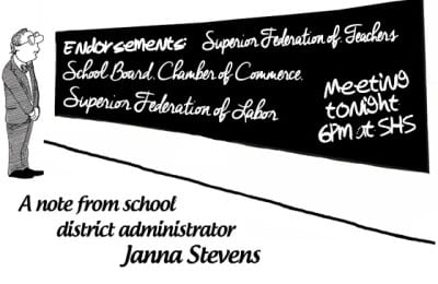 Vote April 5th | School District of Superior Referendum