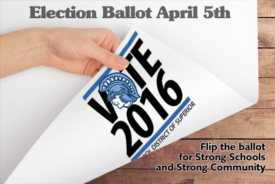 Vote for the Superior School Referendum on April 5th