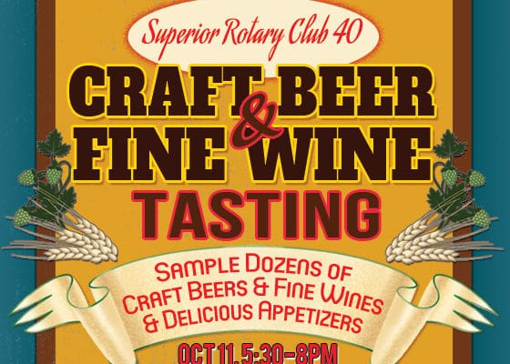 Superior Rotary Craft Beer & Fine Tasting Event