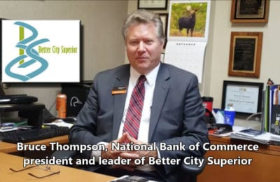 Explore Superior interviewed Bruce Thompson, Better City Superior leader on Nov. 3, 2016