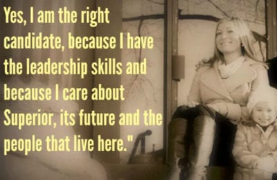 Kalee Hermanson announces her candidacy for mayor of Superior | Explore Superior