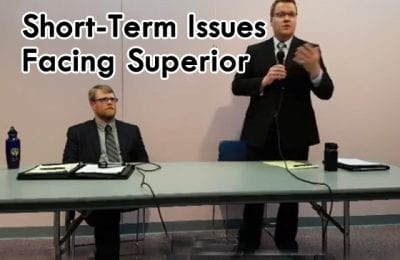 Explore Superior mayoral forum tackles short-term issues facing Superior