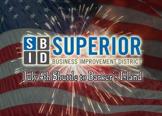 Superior Business Improvement District July 4th Shuttle | Explore Superior©