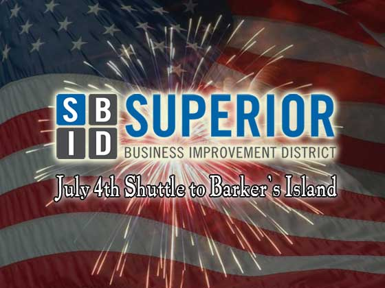 Superior Business Improvement District July 4th Shuttle | Explore Superior©