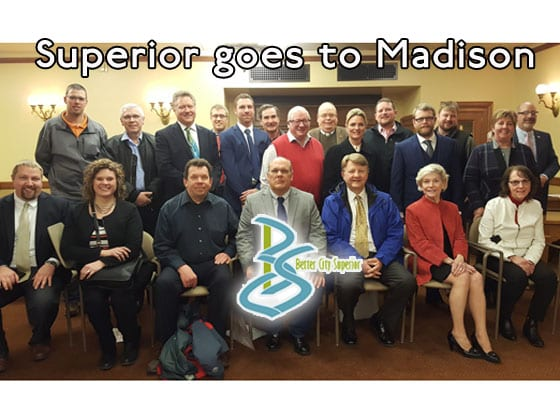 Superior Delegation goes to State Capitol in Madison | Explore Superior